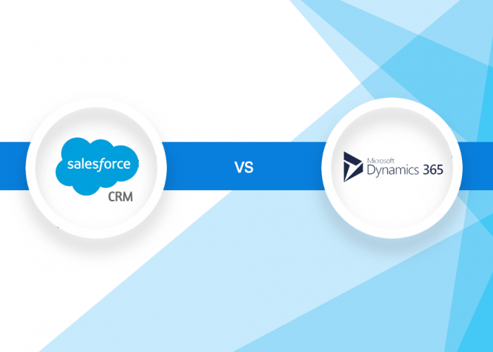 Salesforce's CRM vs Microsoft Dynamics 365 - Lets Compare