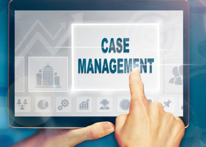 Salesforce case management software